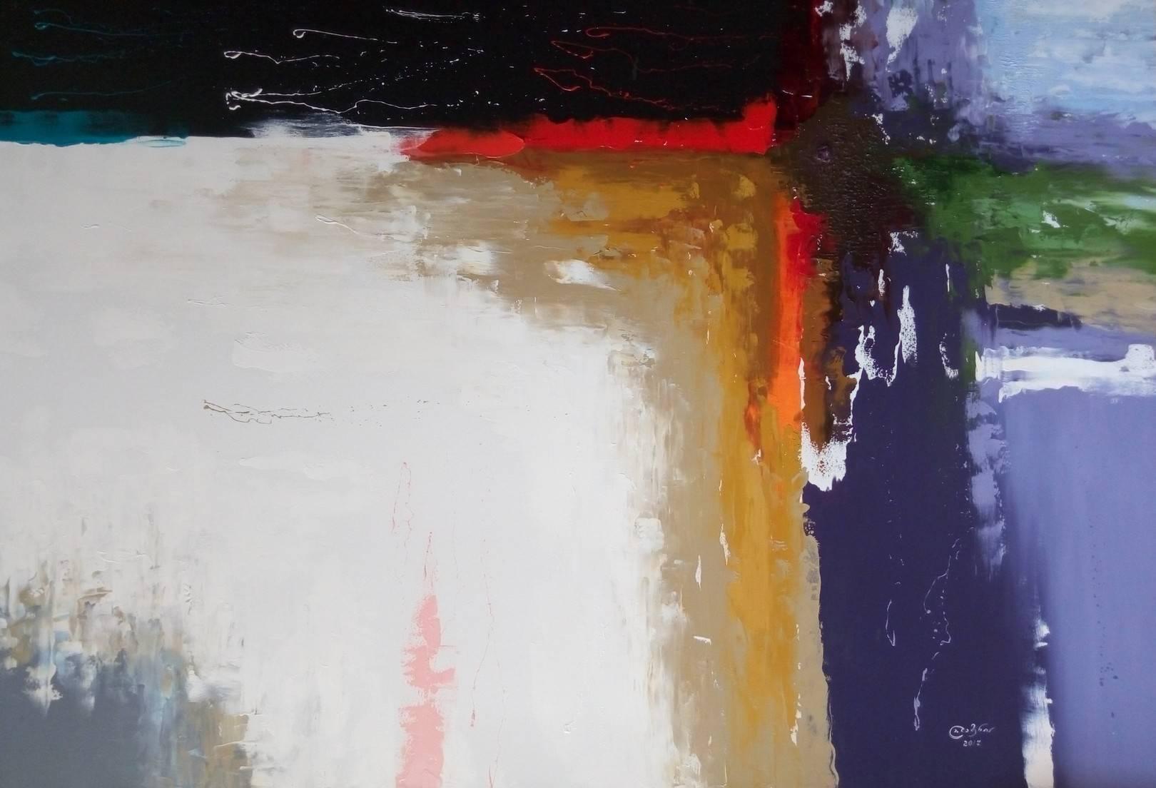 «За гранью»                 холст, масло «Beyond»                       oil on canvas                                                 120x180,  2017