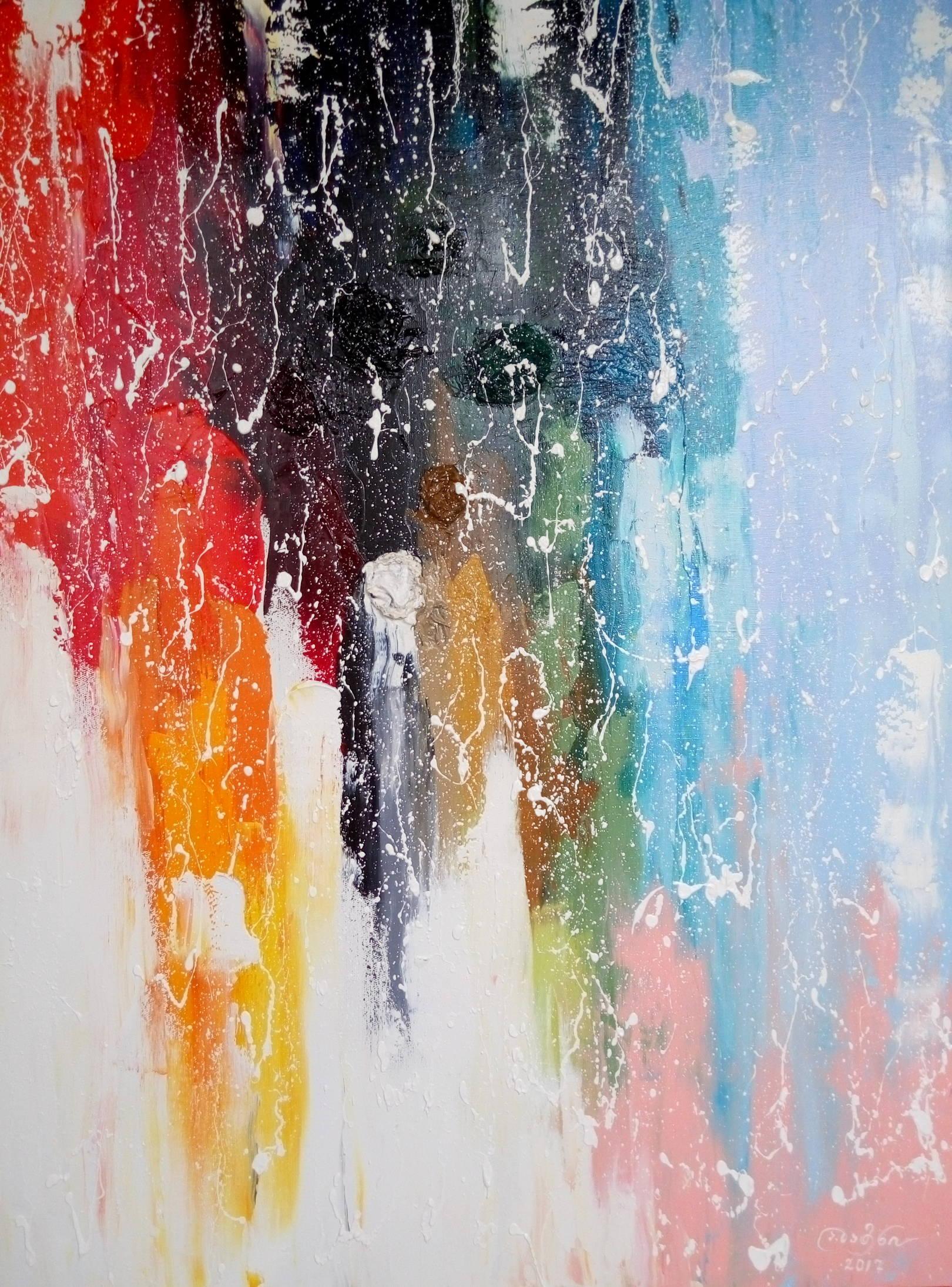 «Весенние видения»                       холст, масло «Spring visions»                                oil on canvas                                                 80x60,  2017