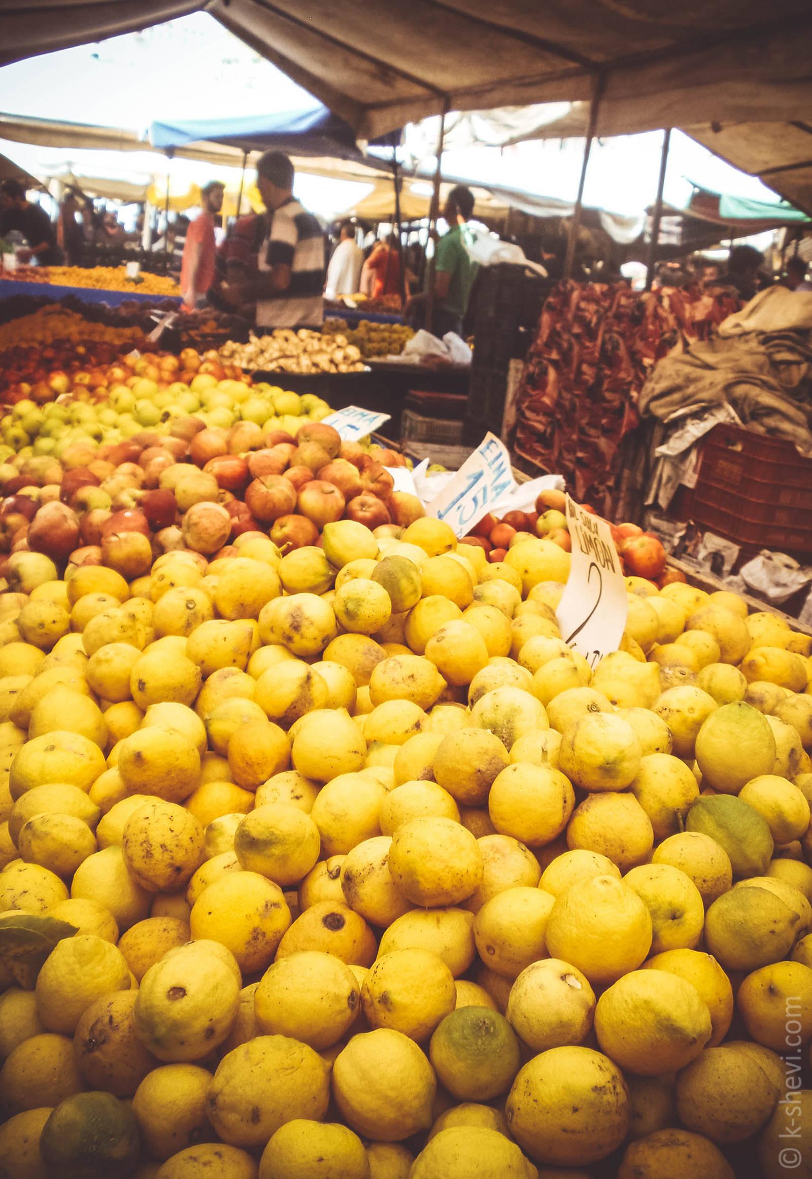 Рынок в Манавгат, Турция.
