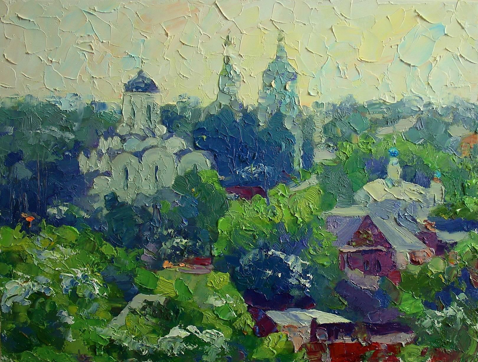 """Княгинин монастырь"" холст, масло, 30х40см"