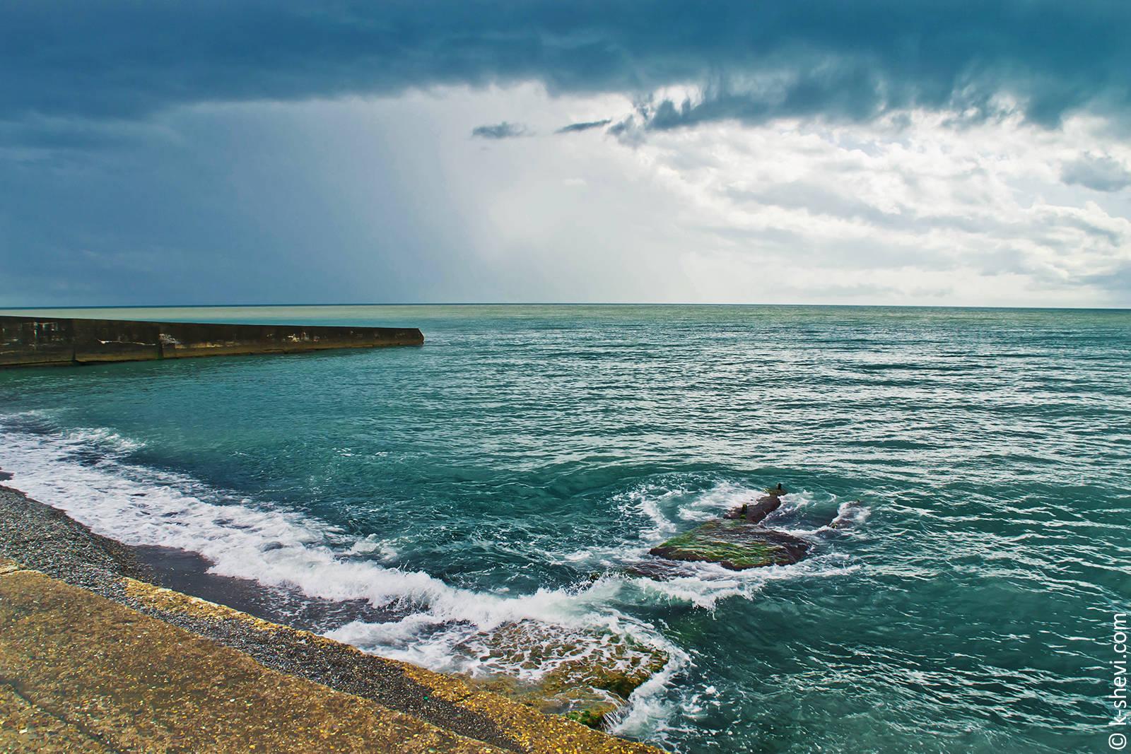 Сочи. Море.