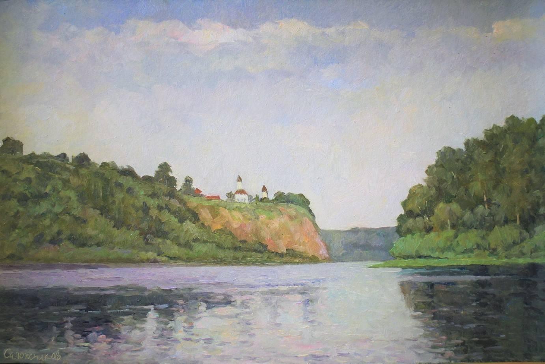 На реке Томь.
