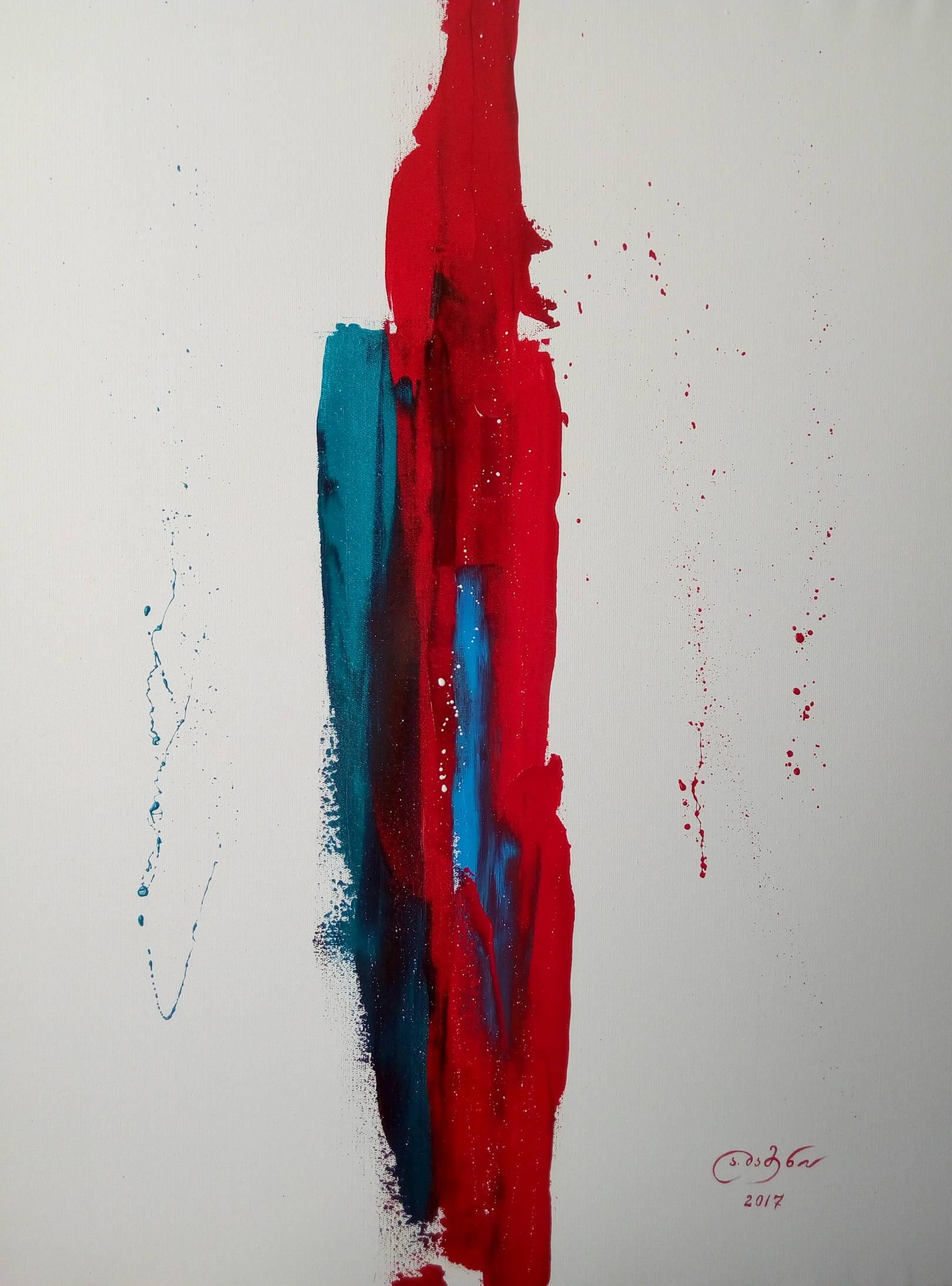 «Грань»            холст, масло «Edge»              oil on canvas                                                90x70,  2017
