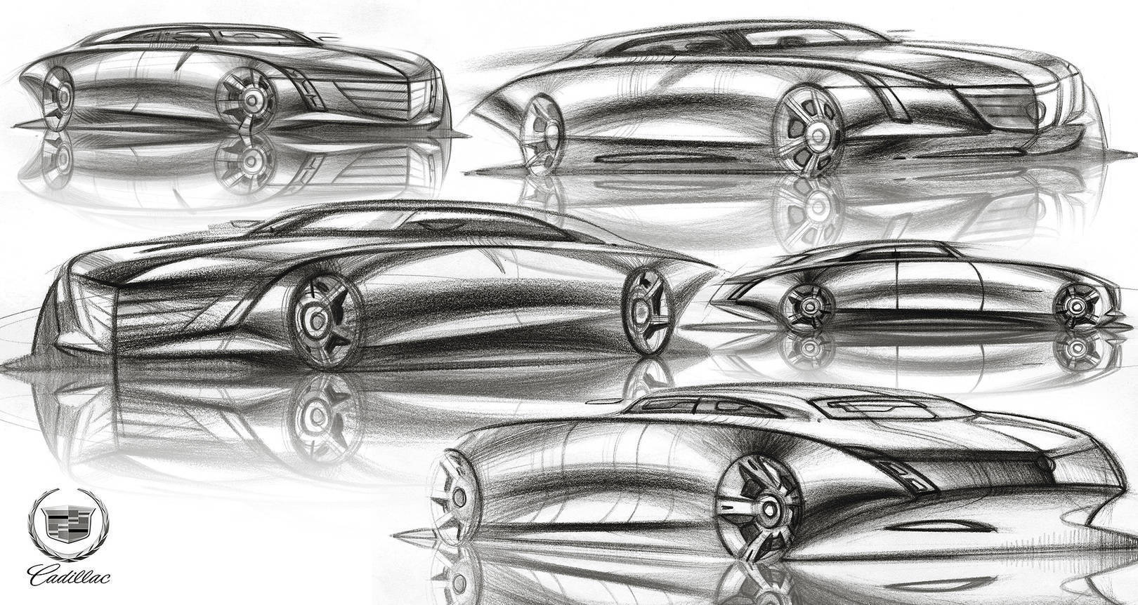 Free car sketches