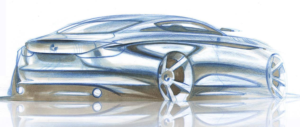 BMW Z3 sketch