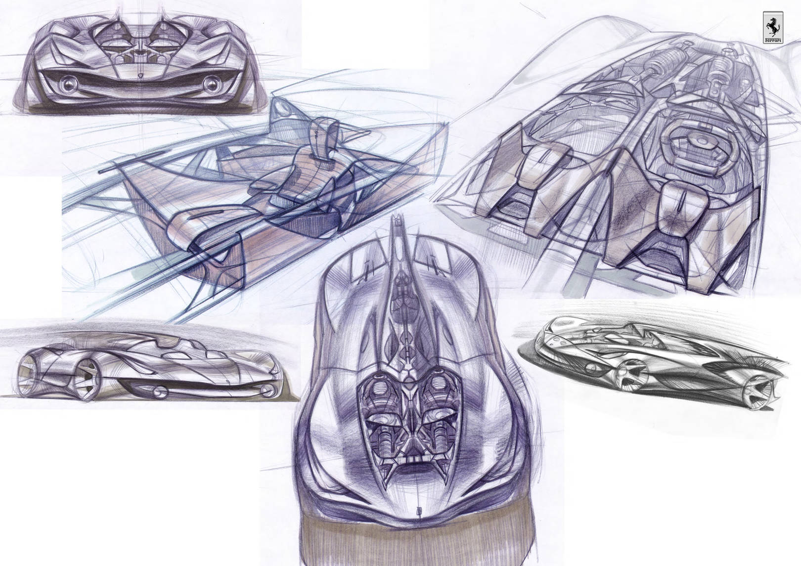 Ferrari free sketch
