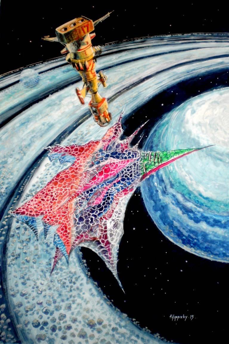 Артефакт в системе Урана.