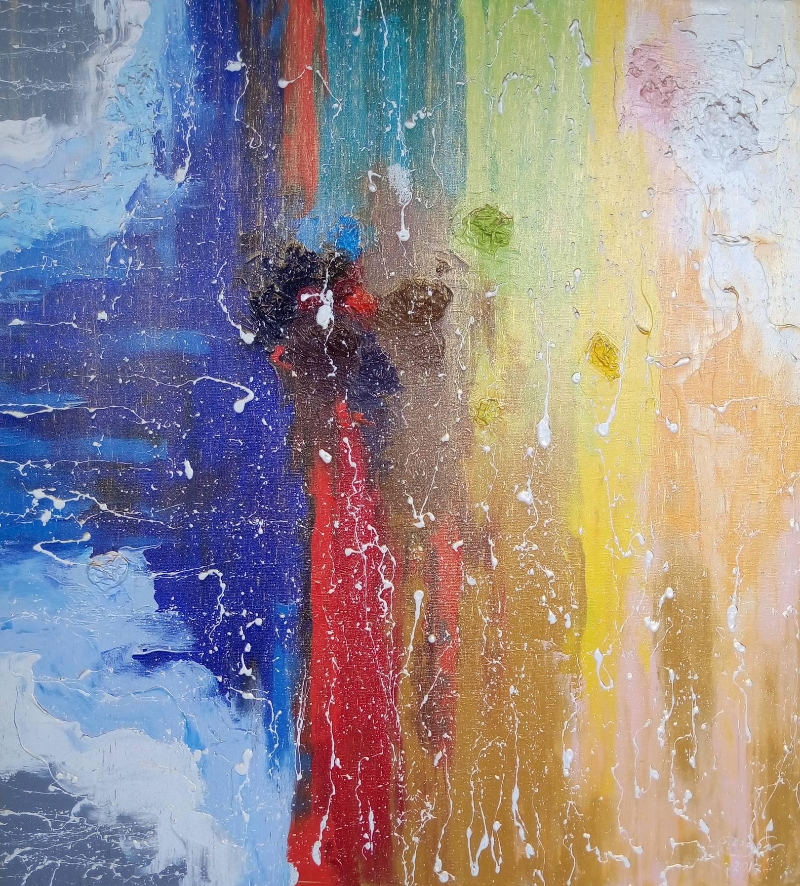 «Разрозненность бытия»               холст, масло «Disunity of Being»                          oil on canvas  80x80, 2017