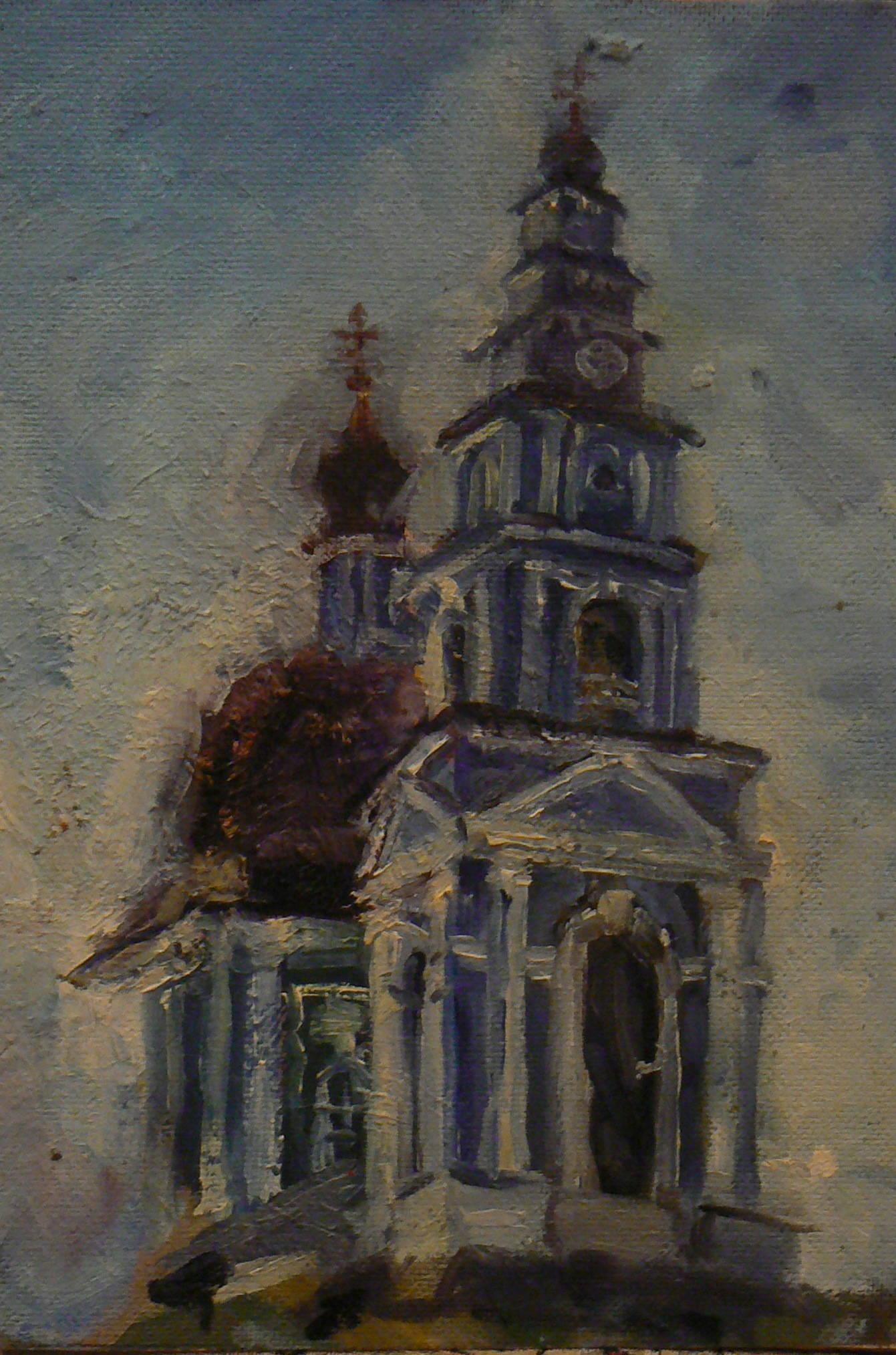 Колокольня.Марфо-Мариинский монастырь
