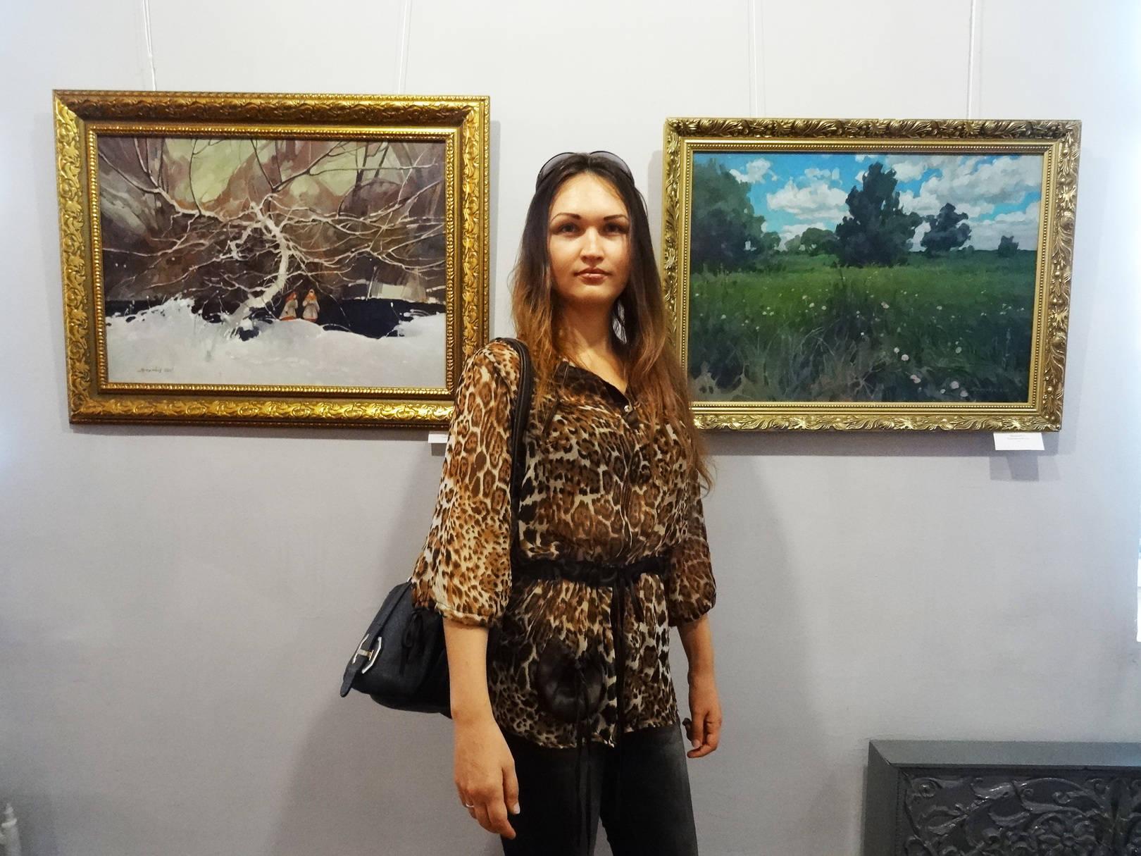 на выставке ко Дню независимости Украины