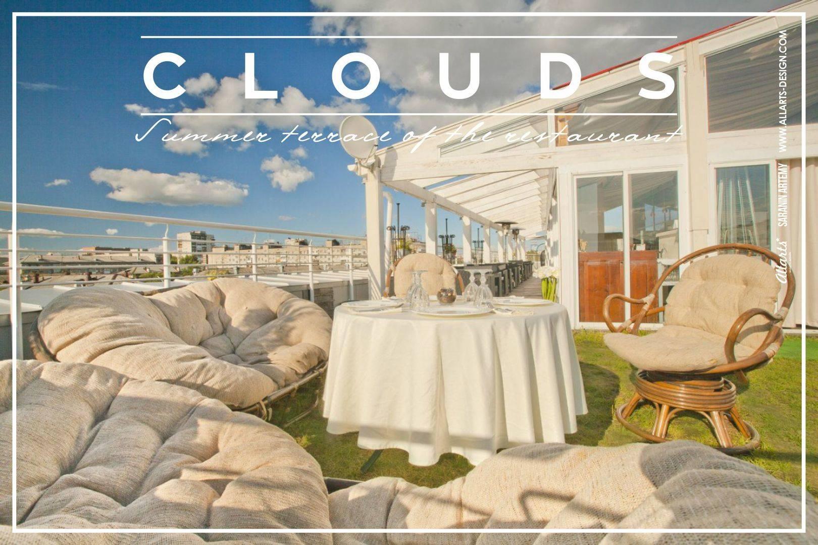 Дизайн интерьера террасы Clouds