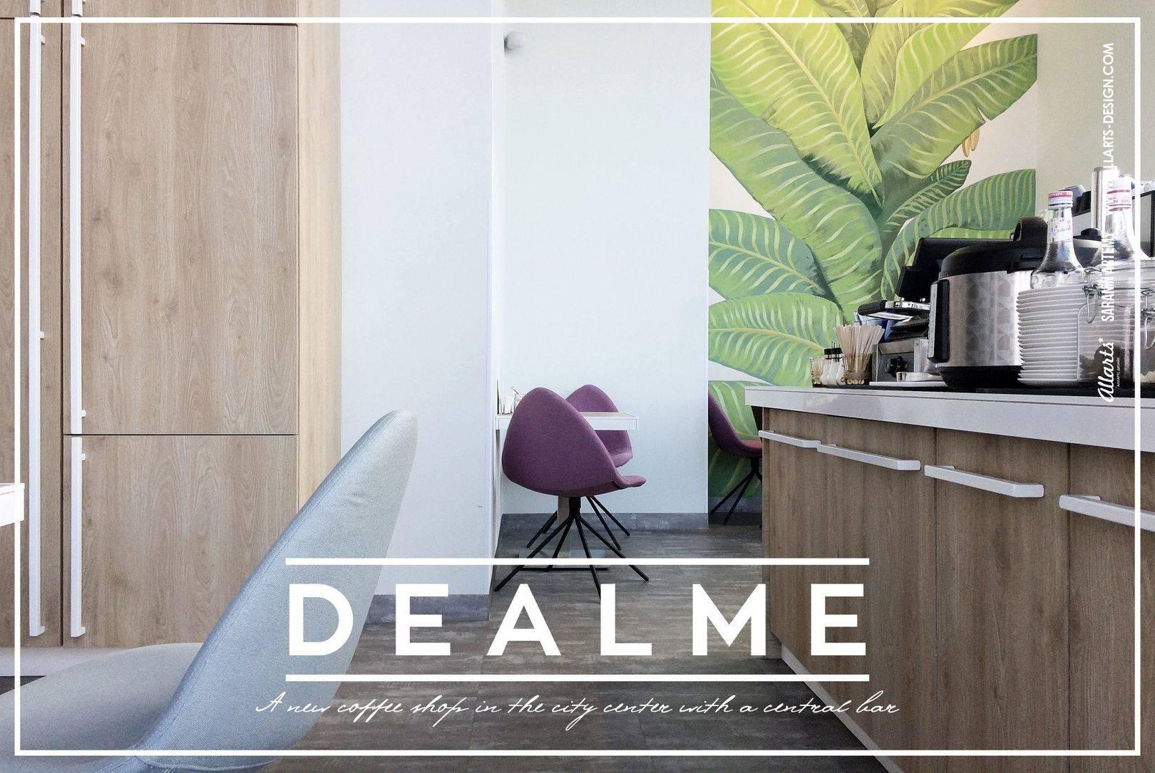 Дизайн интерьера кофейня Dealme
