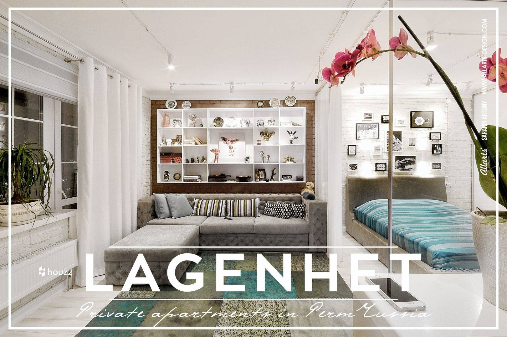 Дизайн интерьера апартаменты lagenhet