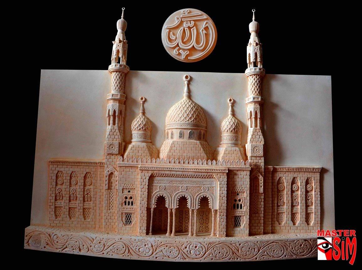 Барельеф Дубай мечети (копия)