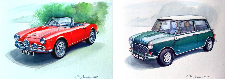 Заказ от известного в Ирландии коллекционера и реставратора старинных машин.