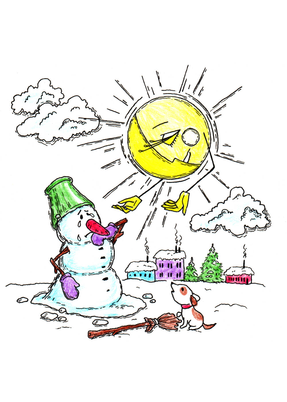 Плач снеговика