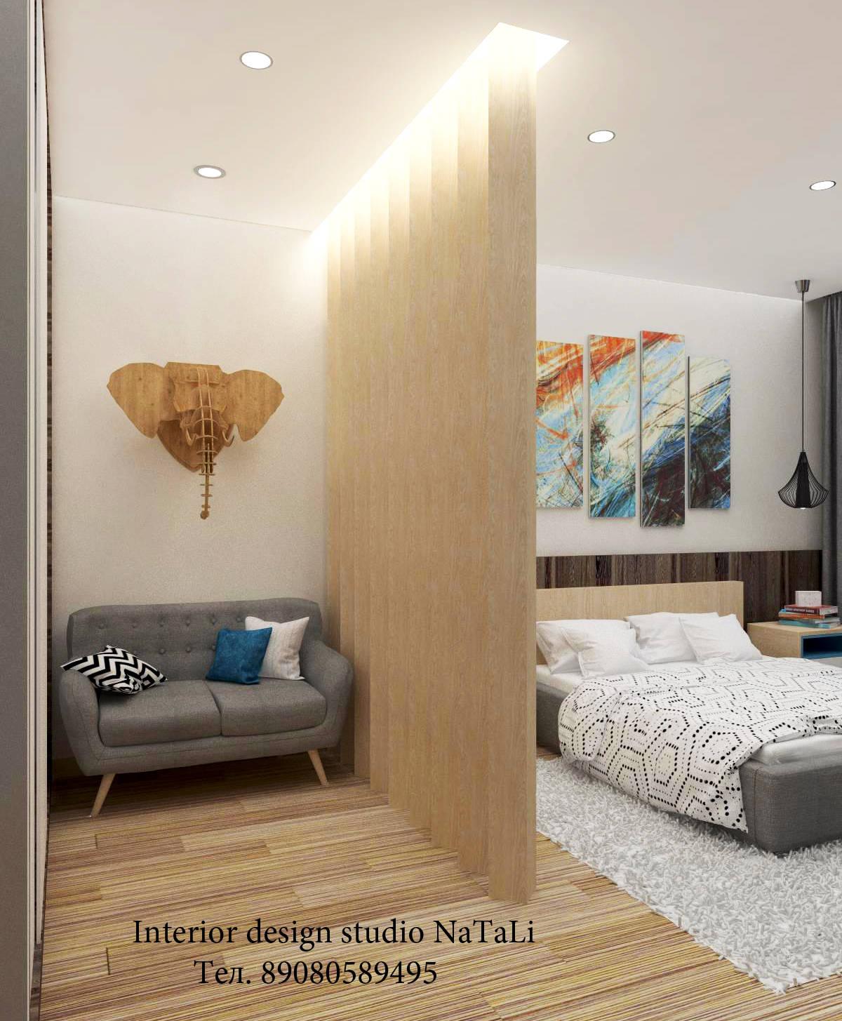Интерьер современной спальни