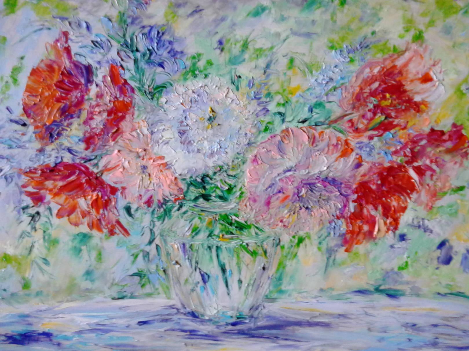 Цветы Маки Пионы