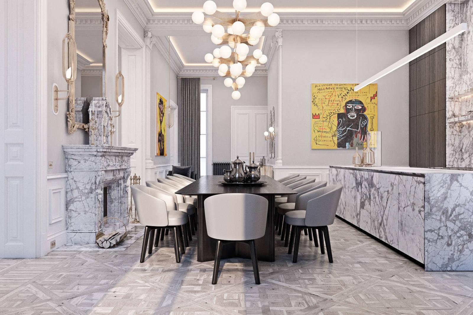 Apartment in Paris.
