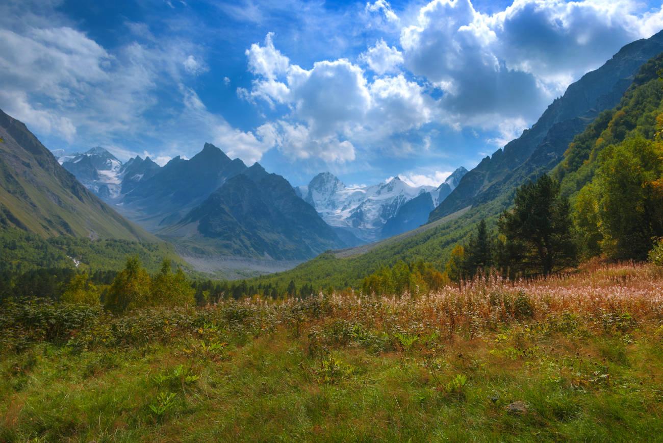 Сентябрь в горах