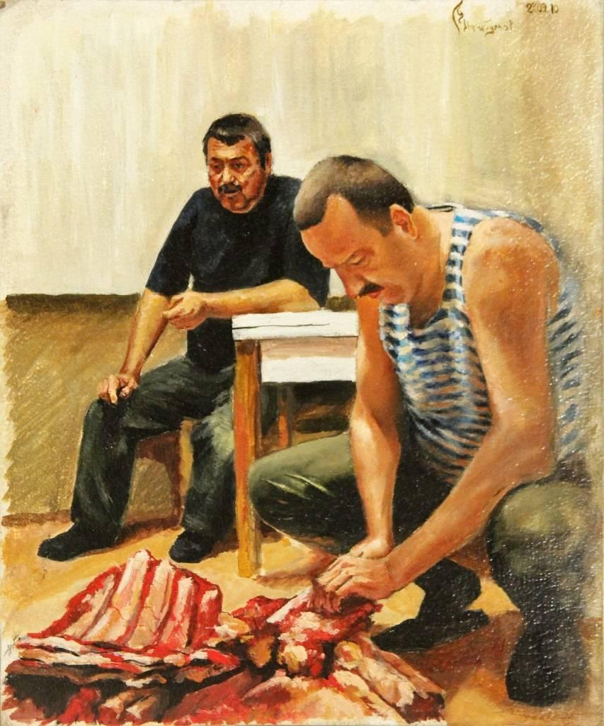 """Мясо"" 25х30"