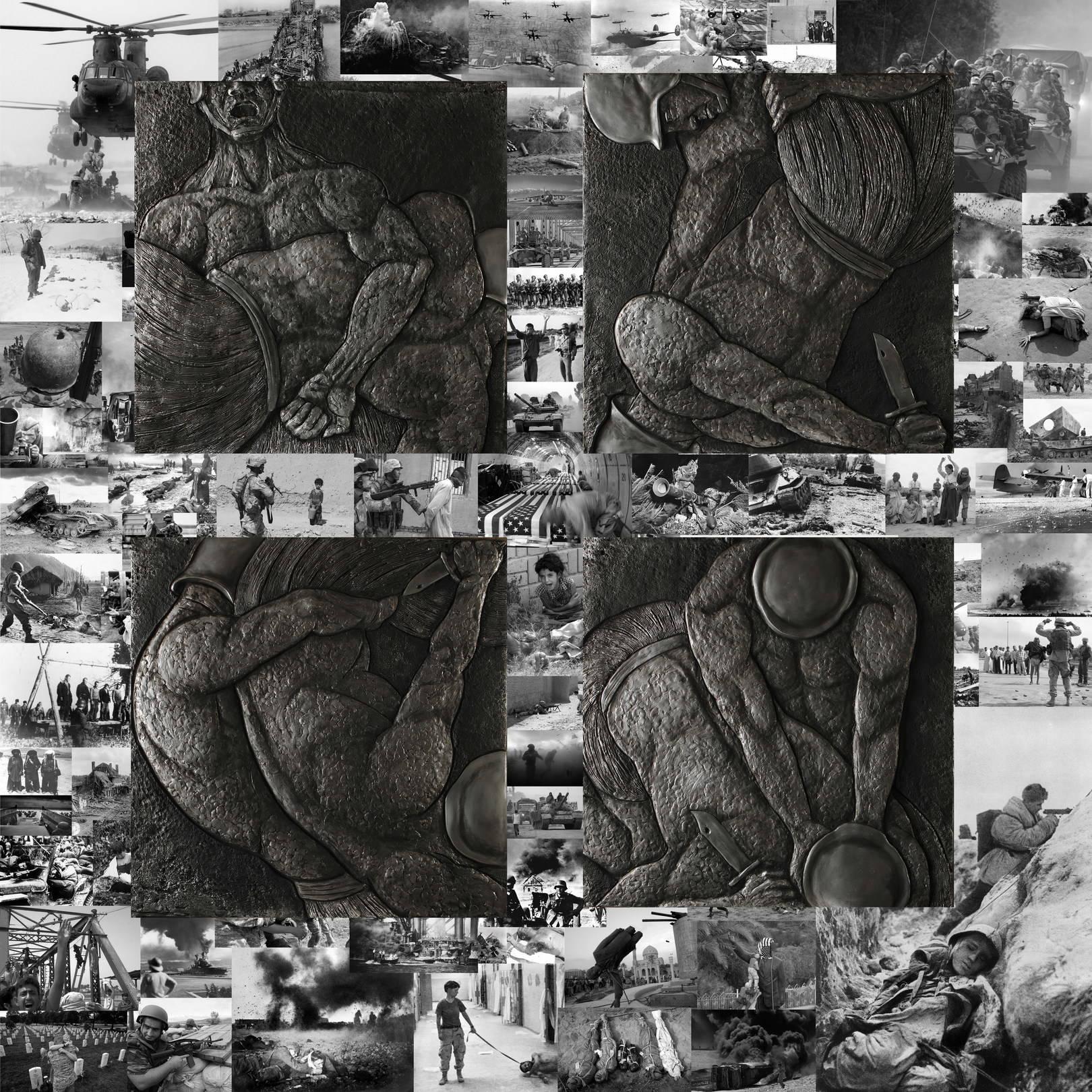 """""""КАИН И АВЕЛЬ. ВОЙНА"""". Бронза/// """"CAIN AND ABEL. WAR"""". Bronze."""