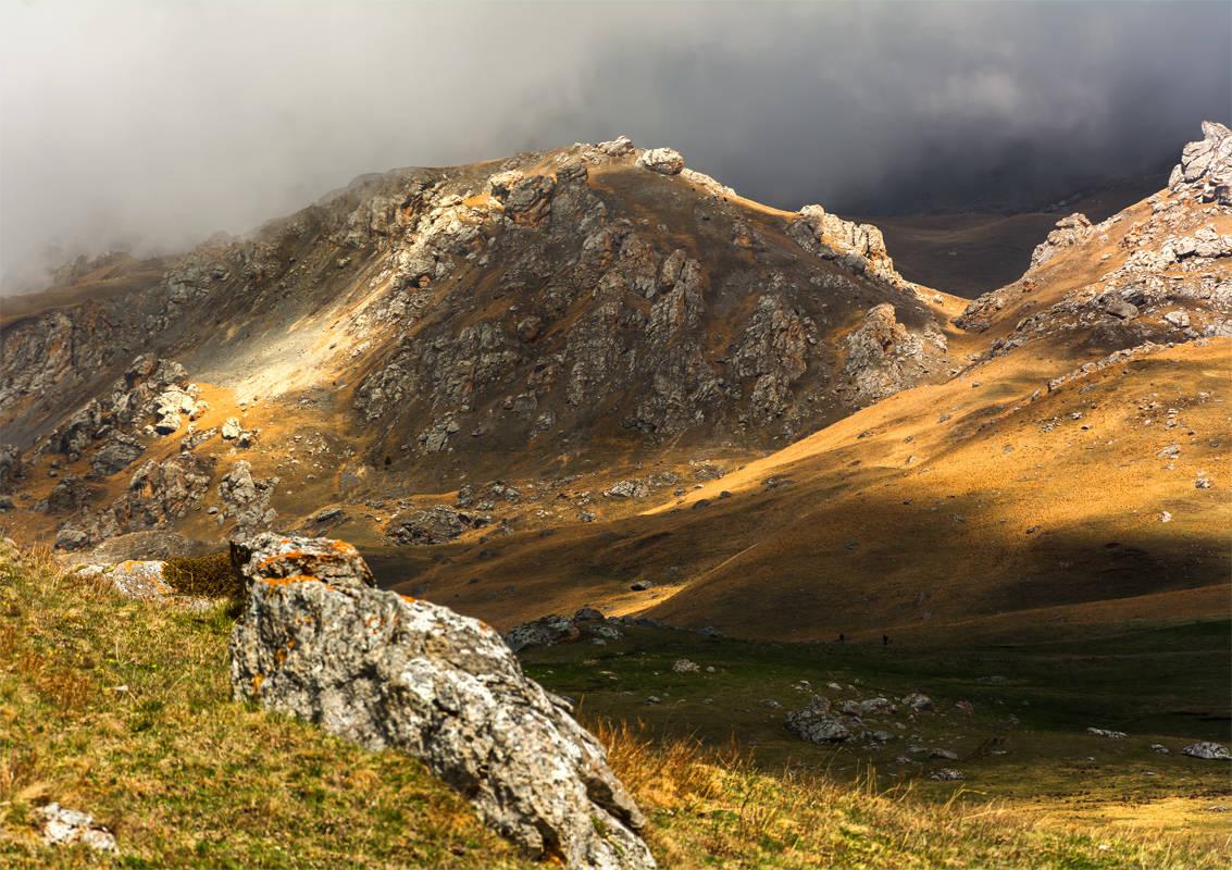 На склонах Кавказа