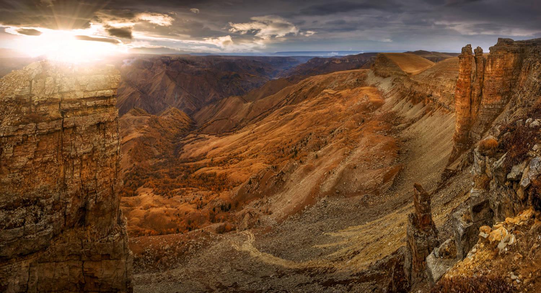 Золотой каньон Бермамыта