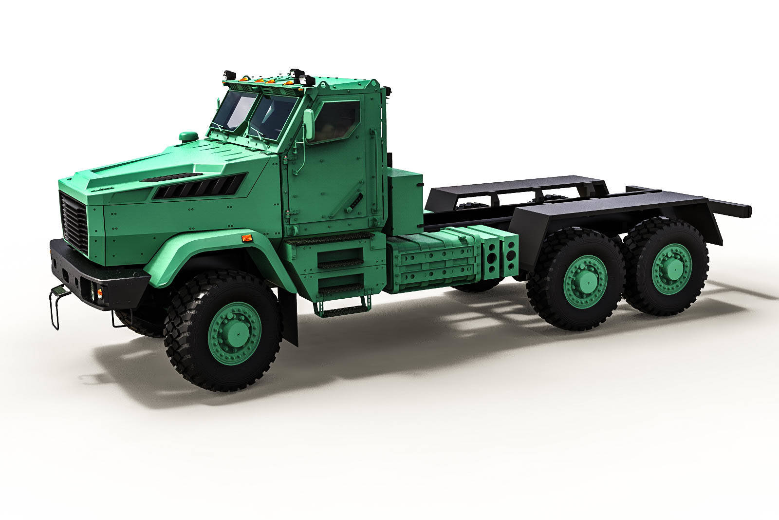 Concept Military truck