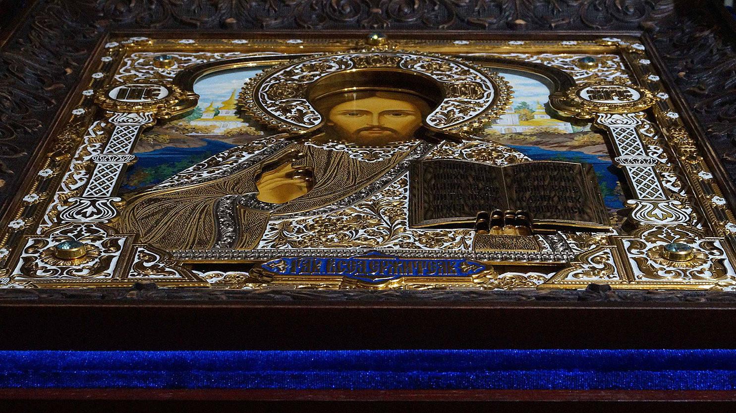 Икона Господь Вседержитель (перспектива)
