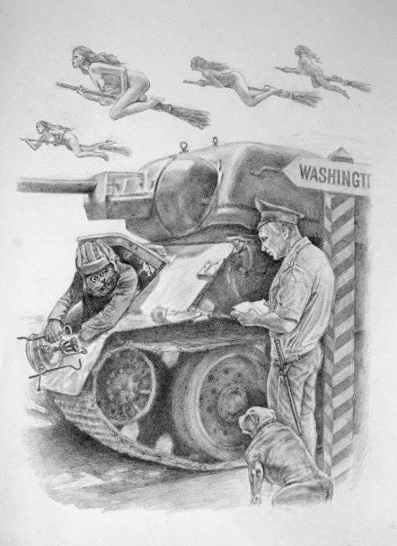 Направление главного удара с поддежкой авиации