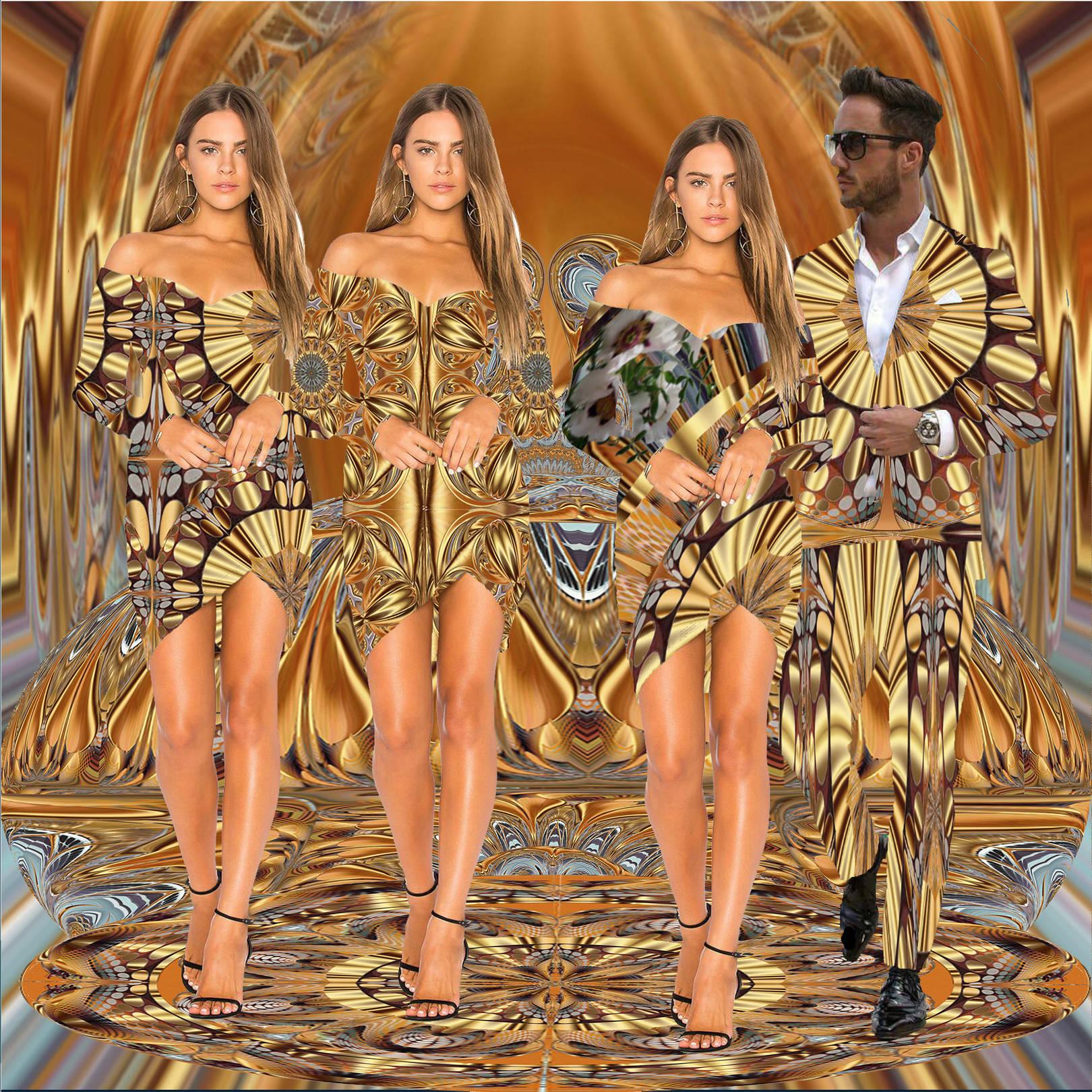 Мода. Текстиль Настроение 2.