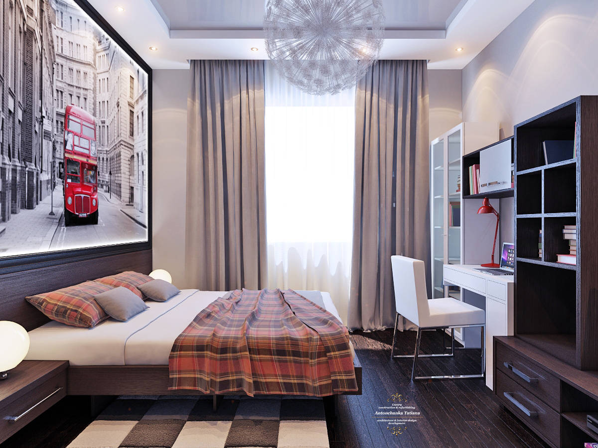 Комната для юного романтика.