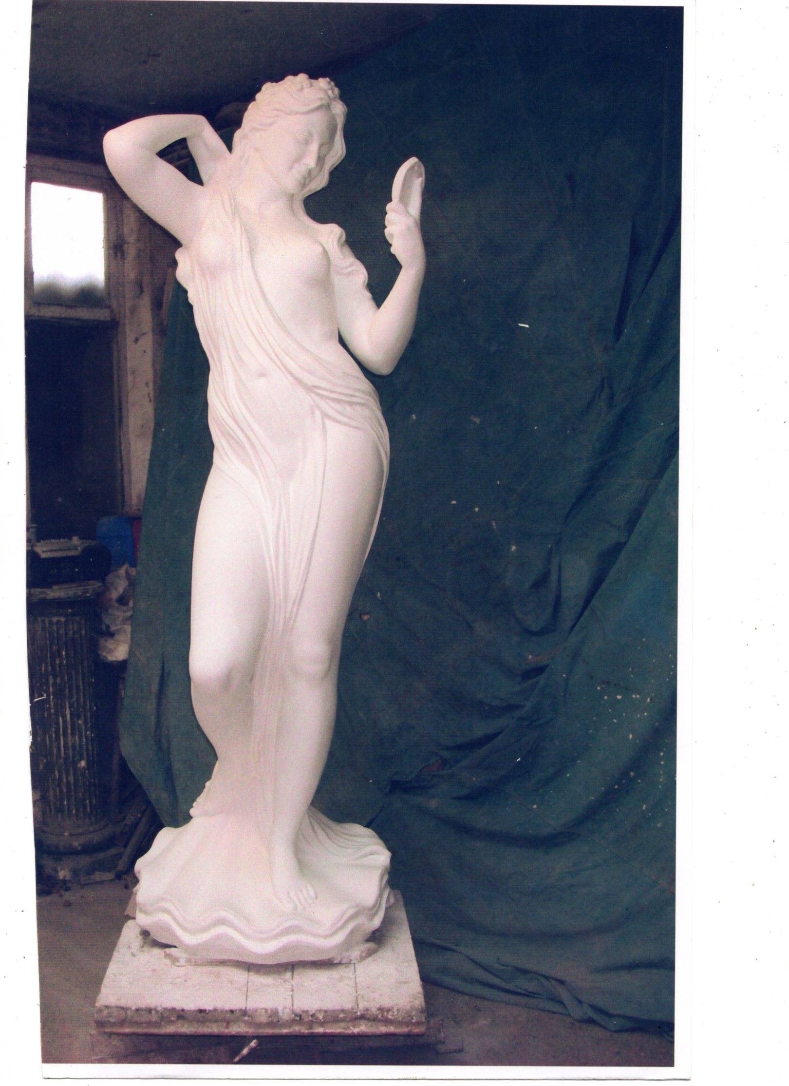 Афродита.Скульптурное сходство.Лицо ваялось по предоставленным фото. Т. +7 978 872 76 55.