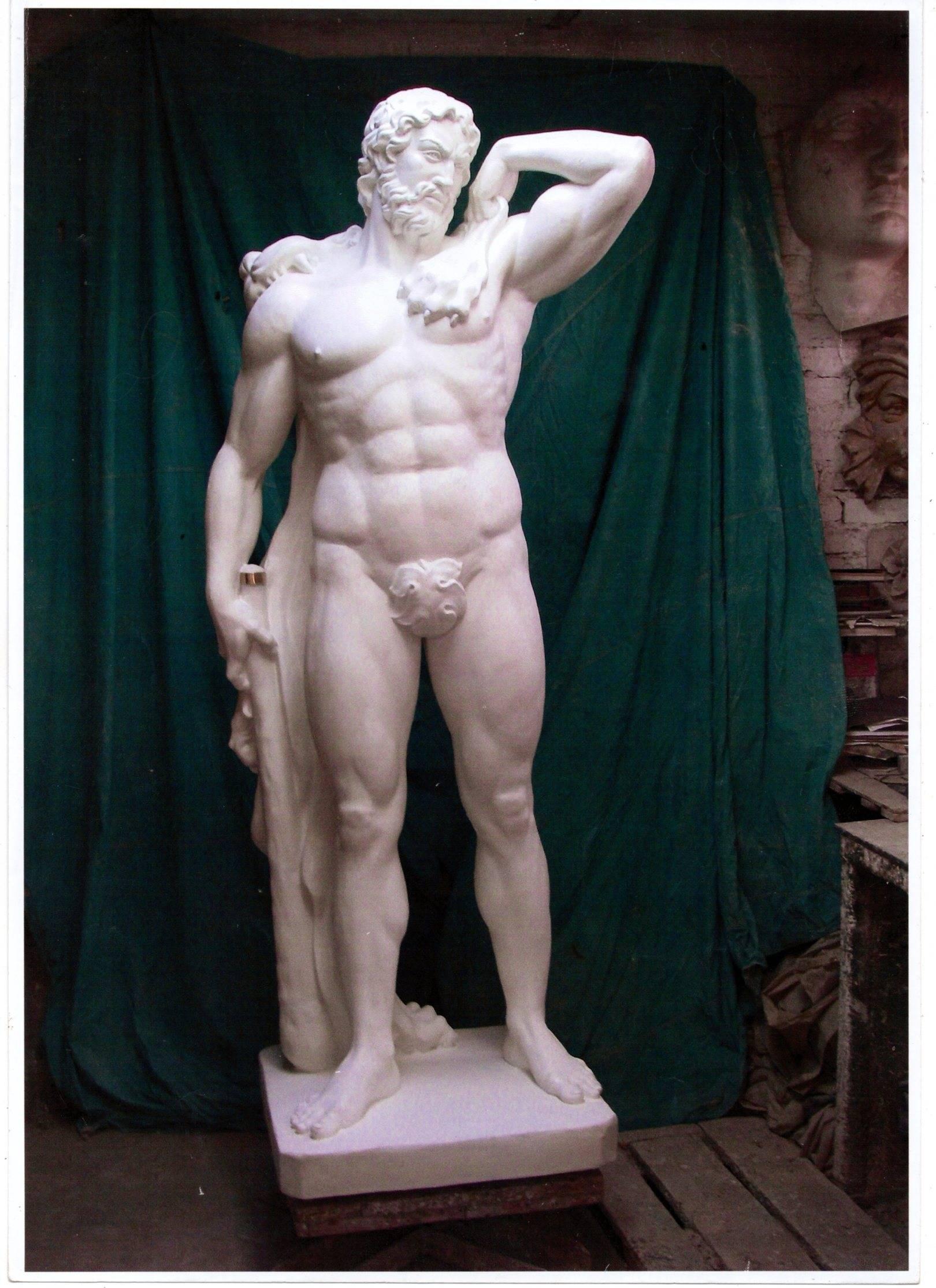 Геракл. Размер 1,25 натуры.