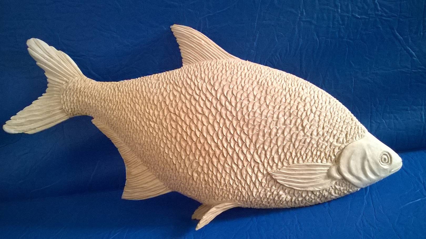 рыба-лещ из дерева