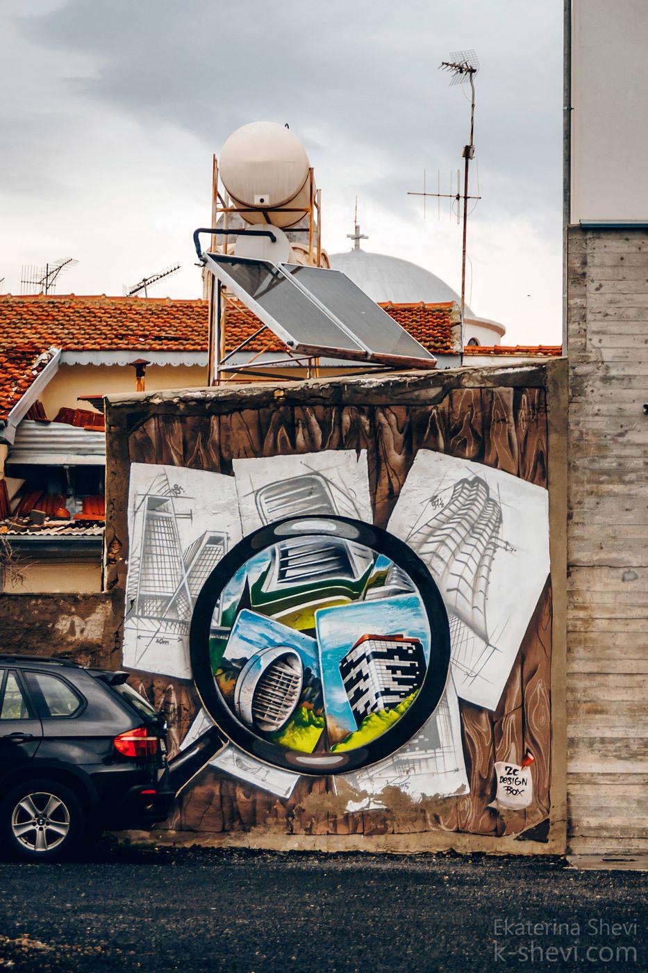 Стены вместо холста? Раньше этим баловались подростки- сейчас- это серьезная работа серьезных художников.