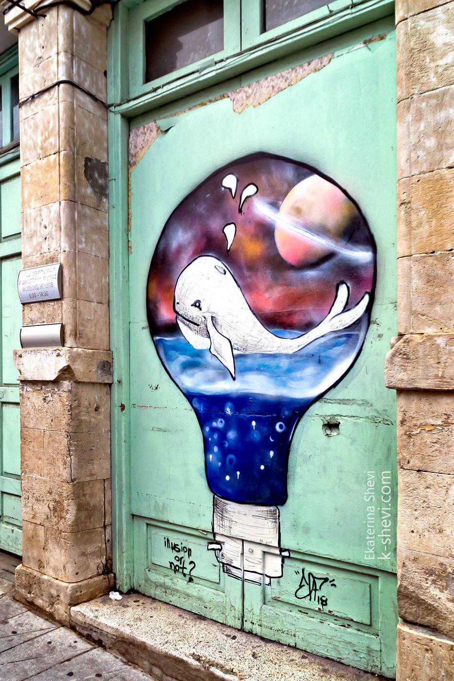 """Идея личного мировозрения на одной, конкретно выбранной стене """"Мечты сбываются""""?"""