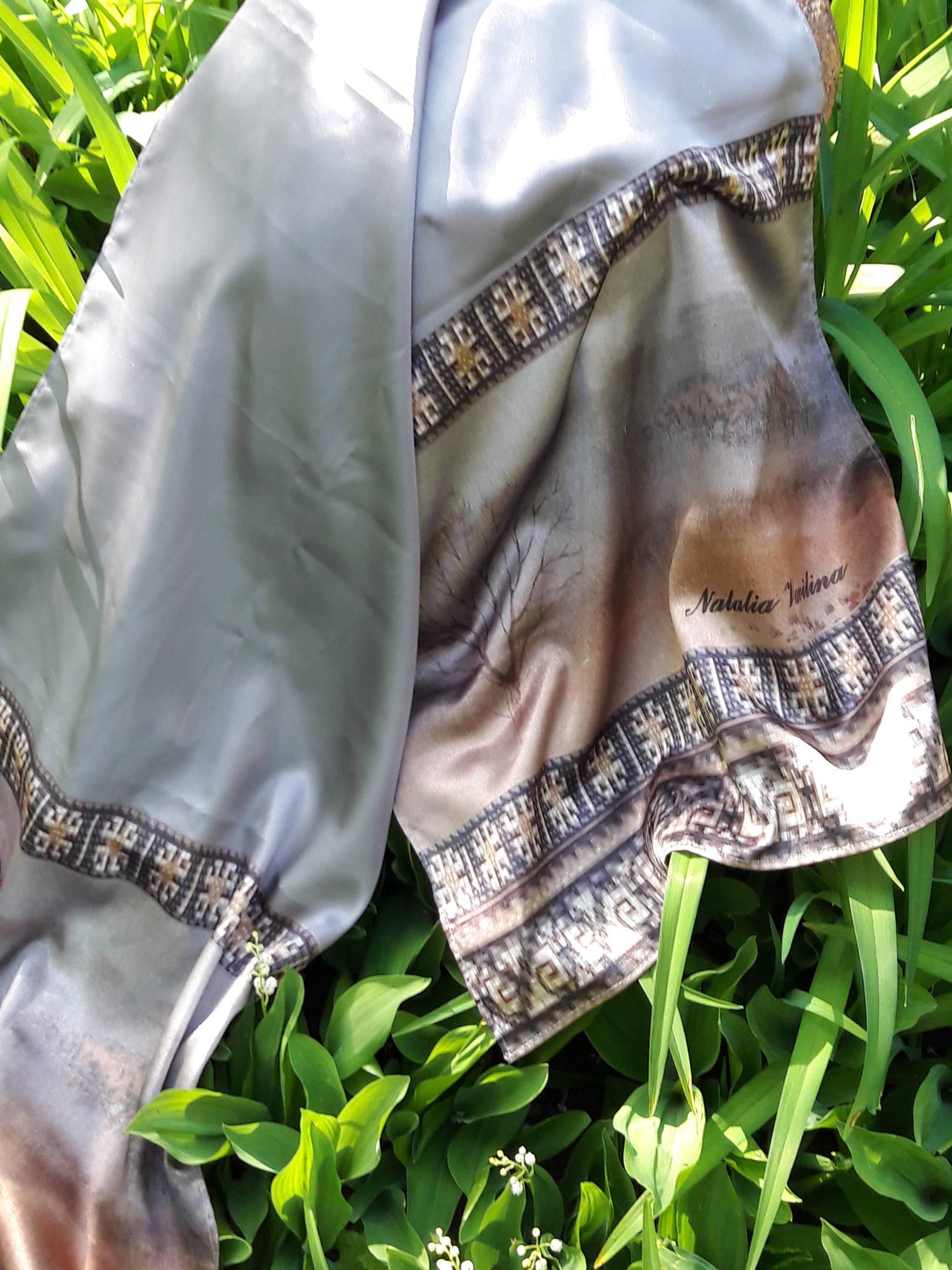 Мои платки на моделях