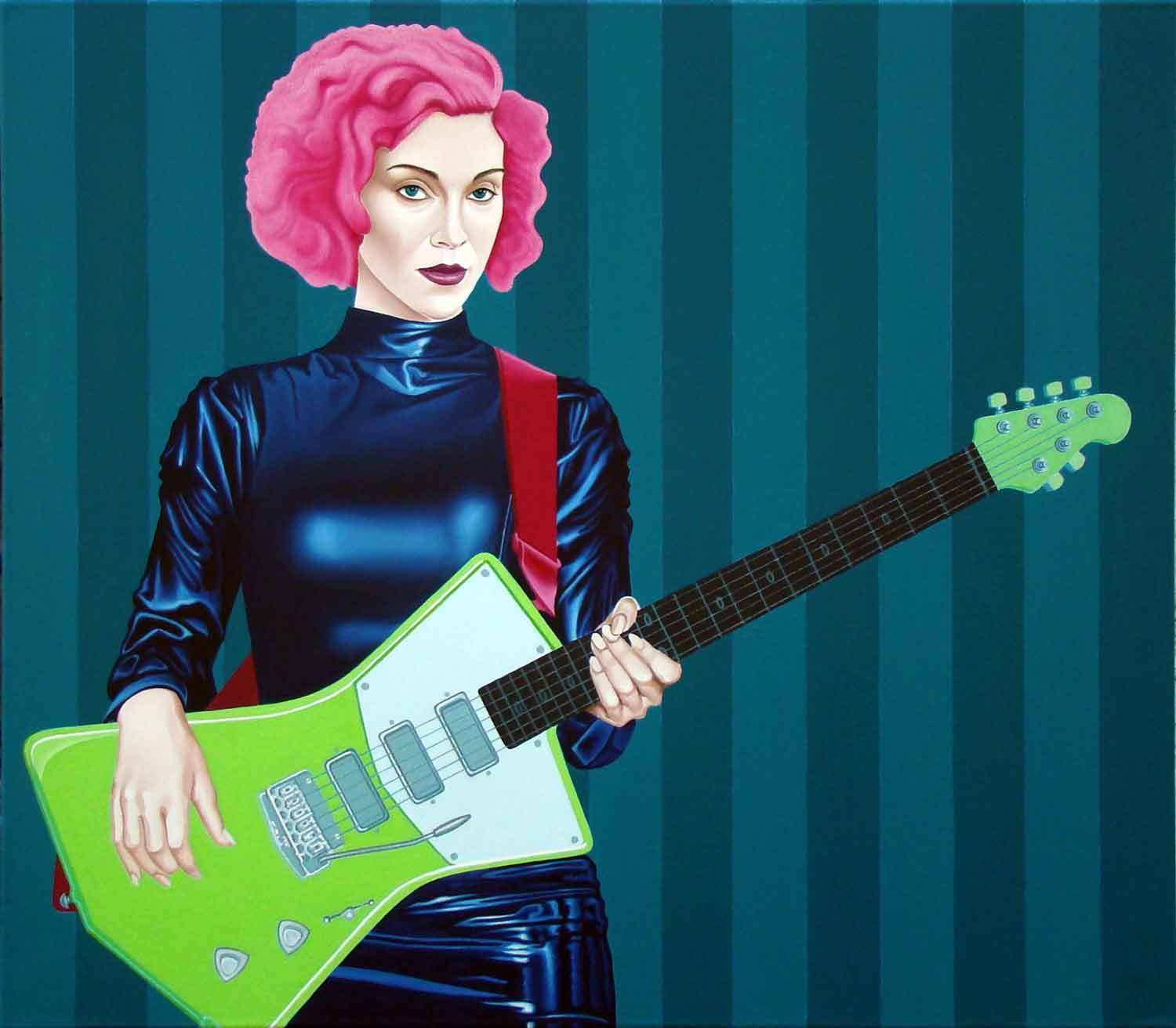St. Vincent холст, масло 70-80 см. 2018 год.