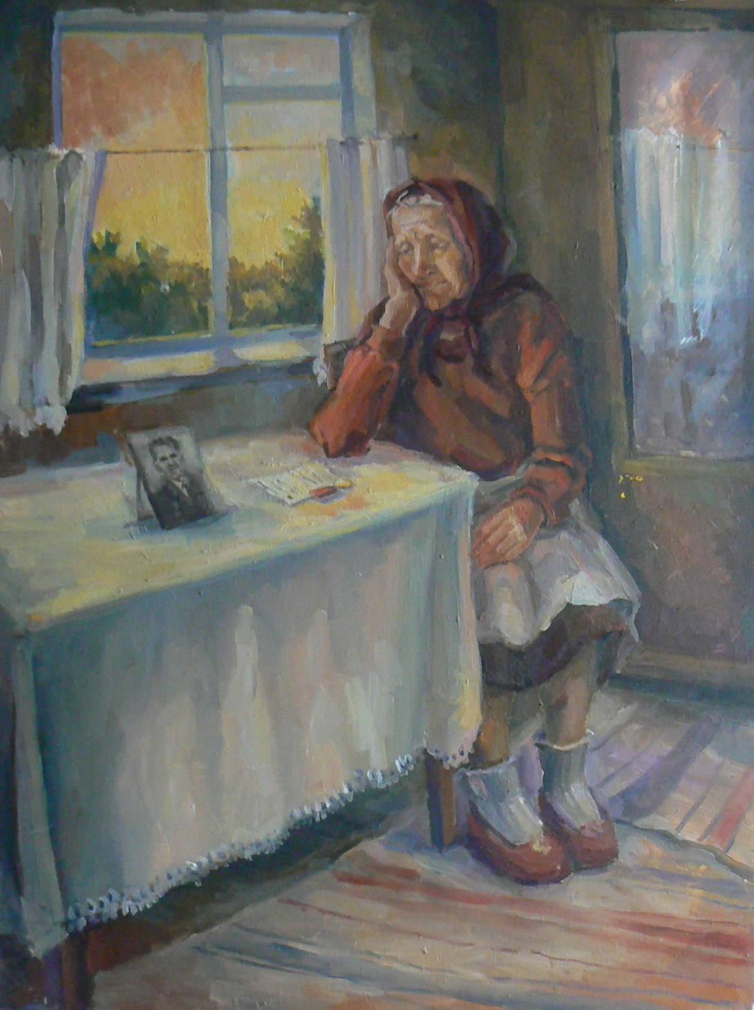 Портрет прабабушки Колтуновой Анастасии Наумовны.