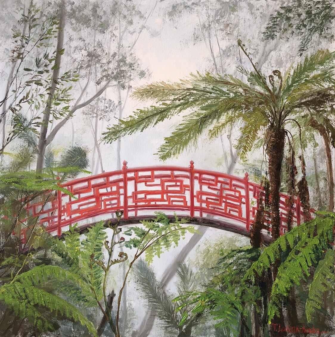 Мостик в джунглях