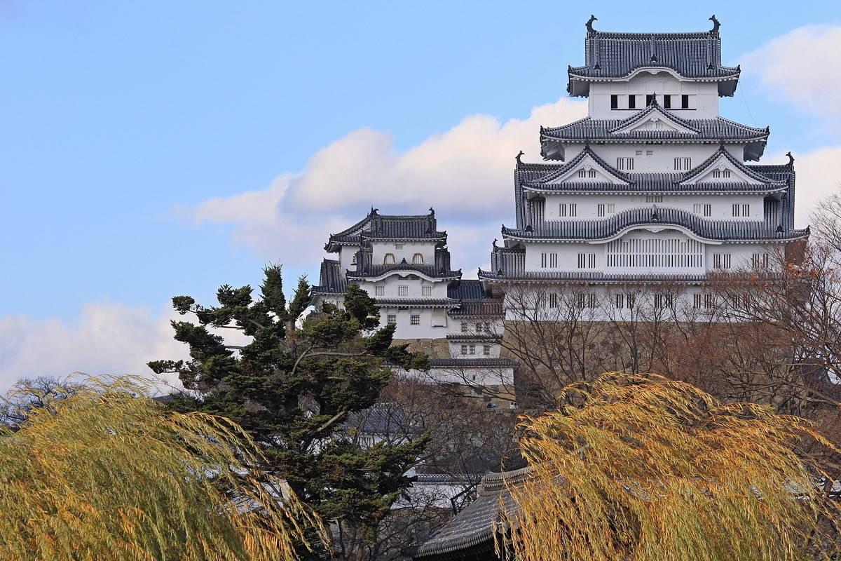 Замок Химэдзи (Химэдзи. Япония).