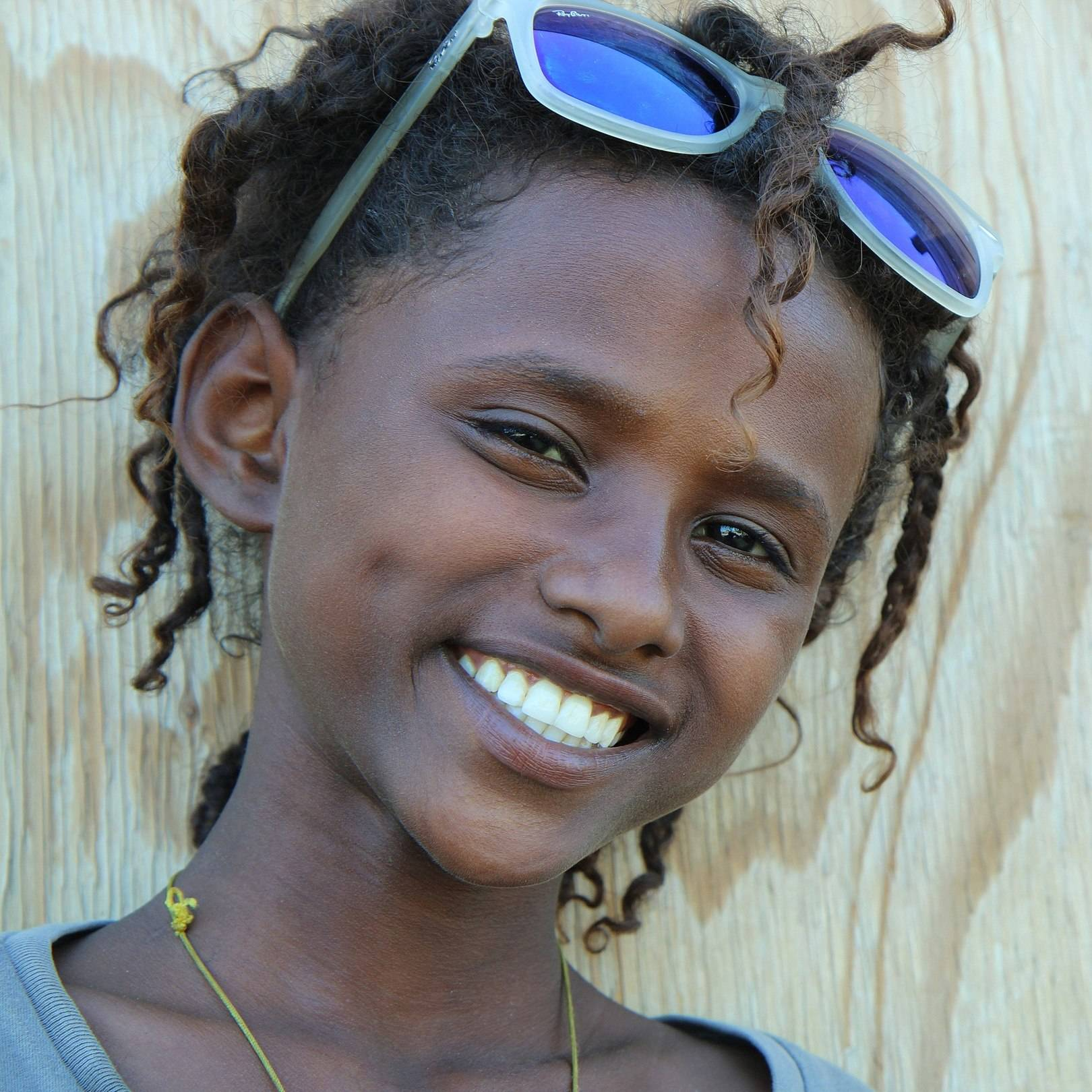 10- летняя девочка по имени Эйса (Eyesa) из деревни Hamed Ela (Регион Афар. Эфиопия)