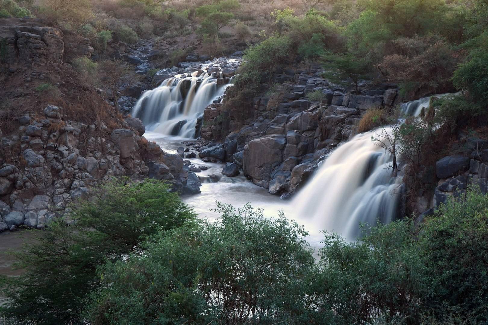 Водопад Аваш (Эфиопия).