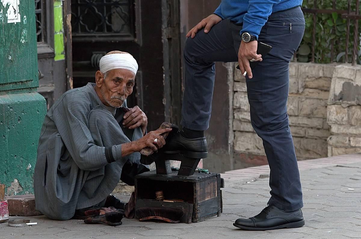 Социальное неравенство (Каир. Египет).