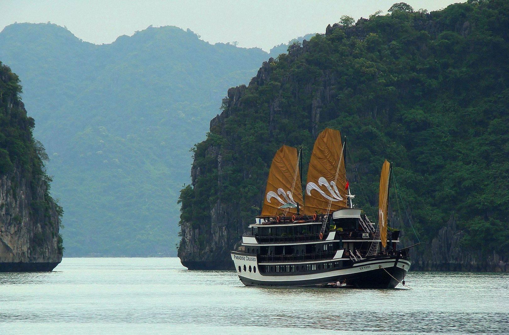 Залив Халонг (Вьетнам).