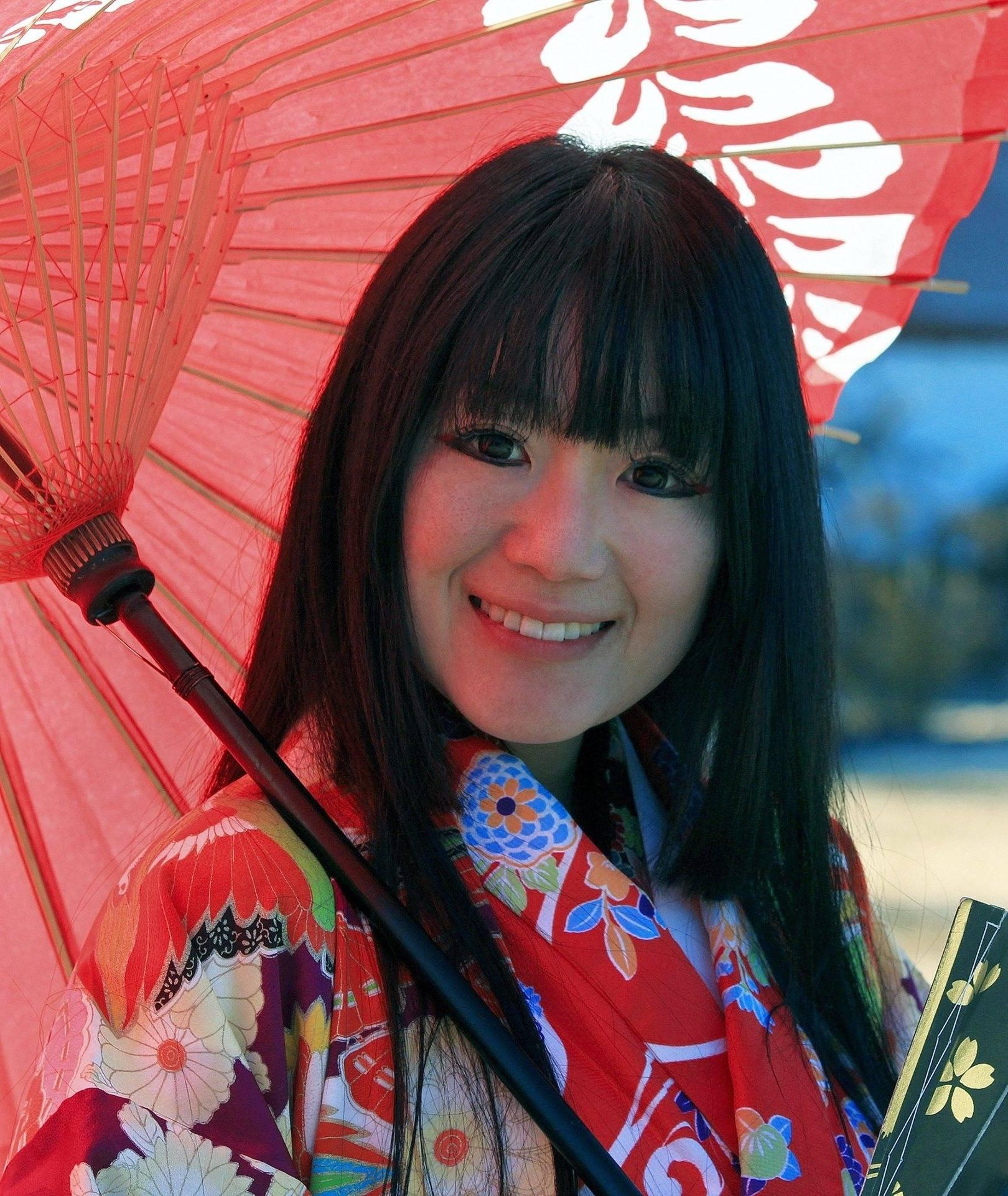 Девушка из Мацумото (Япония).