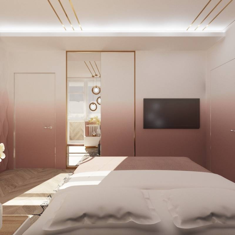 спальня градиент