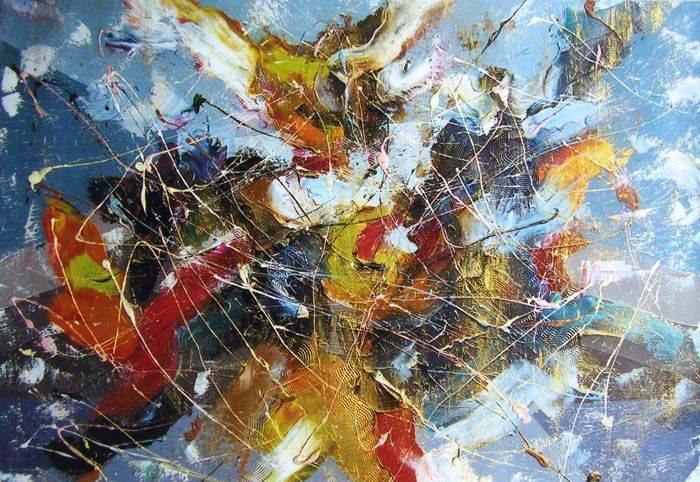 «Зимняя сказка»   холст, масло «Winter's Tale»       oil on canvas                                               55x70,  2007